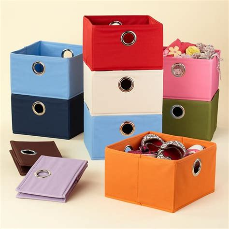 Canvas Drawers Storage by Storage Colorful Canvas Shoe Storage Box Quotes