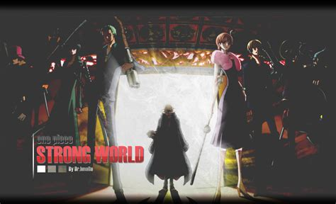 one piece film strong world trailer one piece strong world by dr 7mada on deviantart