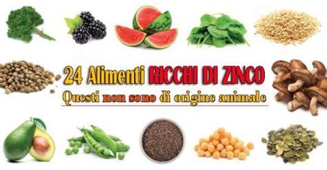 alimenti di origine vegetale alimenti ricchi di zinco di origine vegetale 24 alimenti
