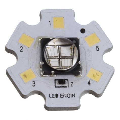 Lu Led Ultraviolet lz4 00ua00 0000 led engin inc optoelectronics digikey