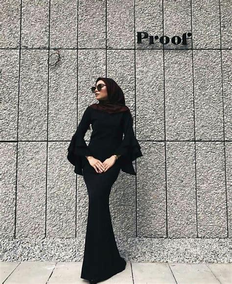 Kebaya Brukat Mermaid Terkini 12 inspirasi rok mermaid inilah tren terkini gaya bawahan ala putri duyung untukmu yang berhijab