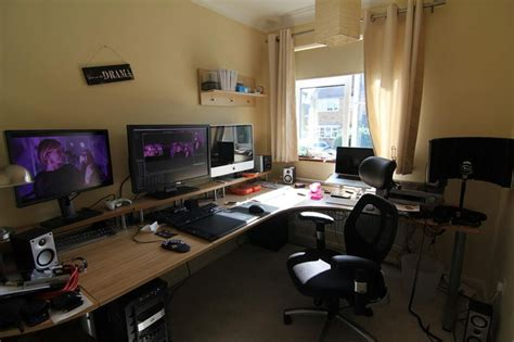 office setup ideas office workspace home gaming desk setup ideas jpg 1279