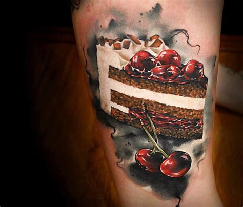 tattoo aftercare food tattoo of food cake by benjamin laukis no 251