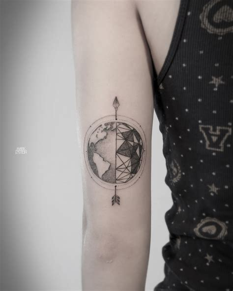 geometric tattoo geometric tattoos by ostein