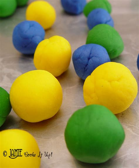Handmade Playdough - play dough