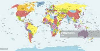 world map with country names vector world map with countries country and city names vector