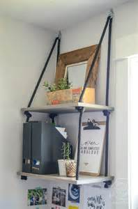 How To Hang Bookshelves Easy Diy Shelving Shelves Hanging Shelves And Shelving