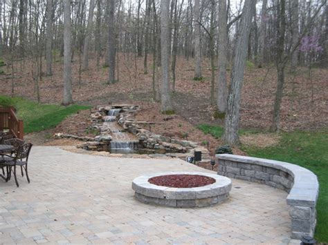 Backyard Patios This Large Backyard Patio Has A Sto Patio Designs