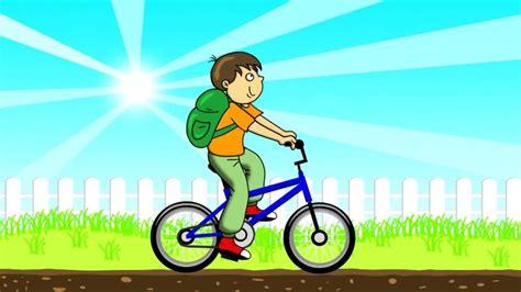 film kartun anak anak ayo belajar naik sepeda youtube