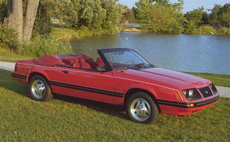 1983 mustang convertible 1983 ford mustang convertible