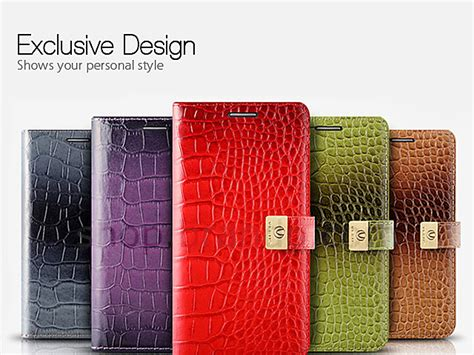 Exclusive Design Kulit For Iphone 5 5s Leather Black Or Brown verus crocodile metal leather for iphone 5 5s