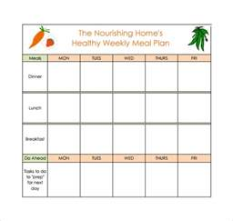weekly meal menu template meal planning template 17 free documents in pdf