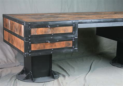 combine 9 industrial furniture rustic industrial desk