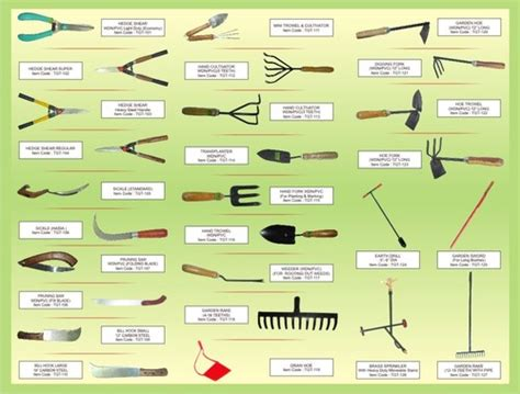 gardening tools list with pictures images ganpati metal products ludhiana