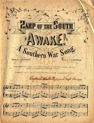 """""""harp of the south awake!"""" by c. l. peticolas"""