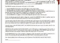 Bank Estoppel Letter Free Printable Bank Loan Agreement Form Generic