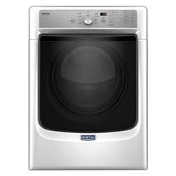 steam dryer static maytag 7 4 cu ft electric dryer with steam in white energy star med5500fw the home depot