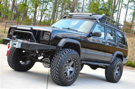 Where Are Jeep Cherokees Built Xj Sport Lifted Nicest In Country Fully Built