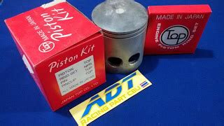 Piston 55 25 Mm Pen 13 Tkrj adtracing spare parts motor cbu dan part racing drag