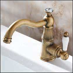 antique brass bathroom faucets single handle page