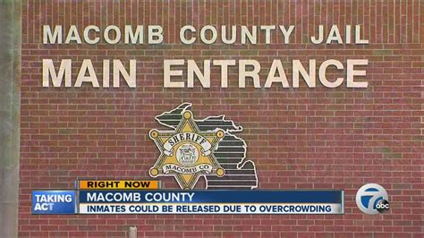Macomb County Arrest Records Overcrowding At Macomb County