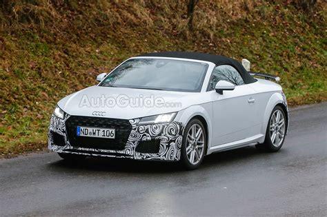 Audi Tt Facelift audi tt spied testing a facelift in europe 187 autoguide