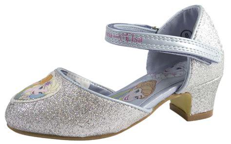 Flat Shoes Character Frozen disney frozen dress up shoes glitter princess