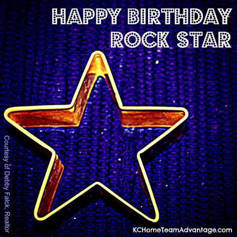 happy birthday images with rock happy birthday rock star birthday post debby falck