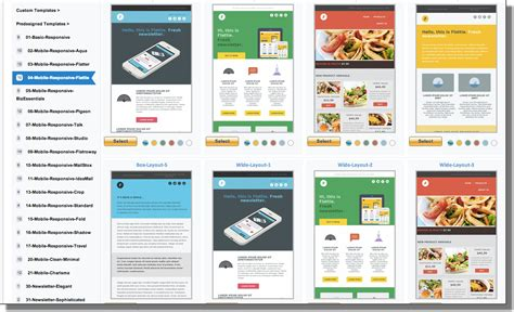 Email Advertising Templates by Advertising Email Template Free Html Mailer Templates