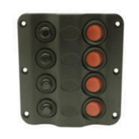 4 panel light switch seachoice 174 8 switch panel led lights 178858 boat
