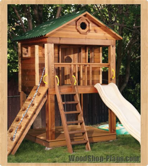backyard clubhouse plans outdoor playhouse plans canada furnitureplans