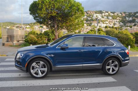 bentley blue bentley bentayga blue