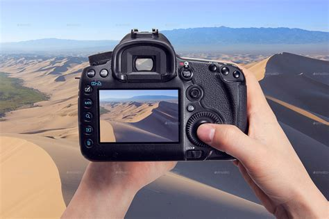 photorealistic dslr camera mock   xepeec graphicriver