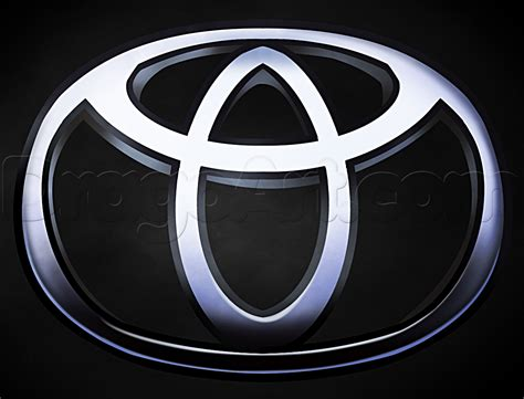 logo toyota how to draw the toyota logo step by step symbols pop