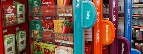 Gift Card Kiosk At Walgreens - why do gift cards occupy prime real estate in major retailers branding magazine