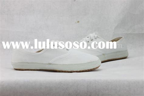 white slip on canvas shoes for sale price china