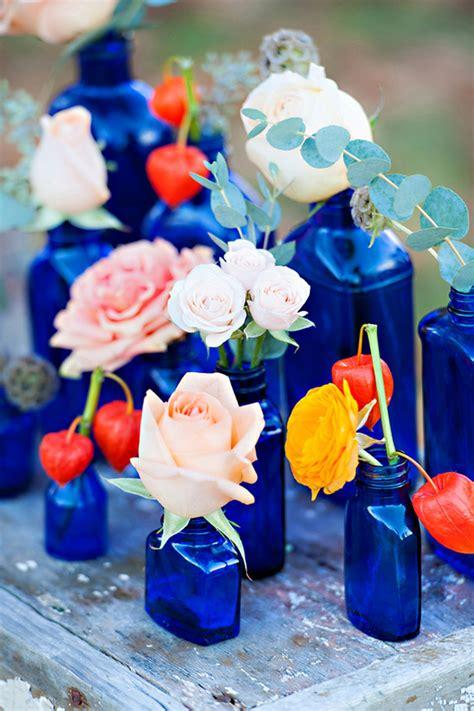cobalt blue wedding inspiration fall wedding ideas 100