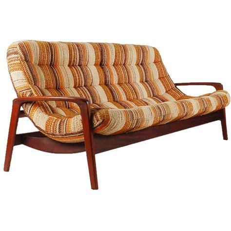 danish modern teak sofa sculptural teak sofa by r huber mid century danish modern