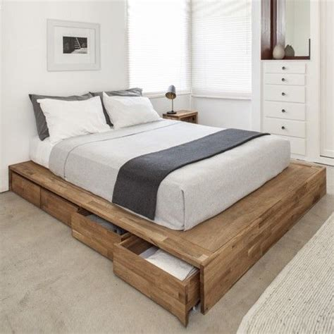 Low Bed Frame With Drawers by 1000 Ideas About Platform Bed Storage On