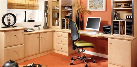 15 Best Collection Of Fitted Study Furniture Home Office Fitted Furniture