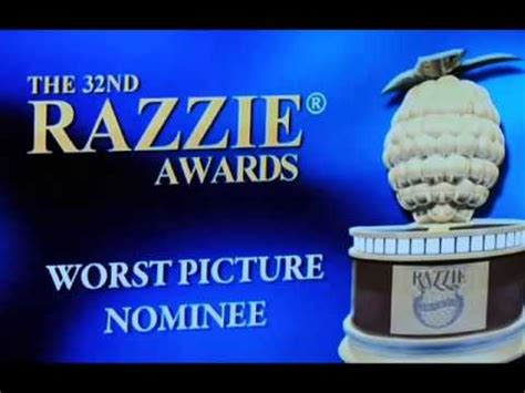 Gets Prize For Worst by Golden Raspberry Award For Worst