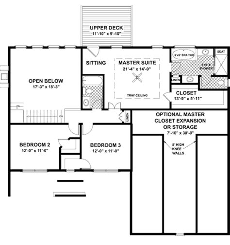 56 sq ft country style house plan 4 beds 3 baths 2234 sq ft plan