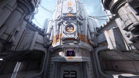 Wallpaper Engine Gameplay | entrance to the building in the game unreal engine 4