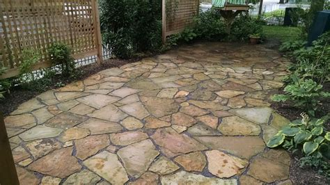 tennesee flag stone patio