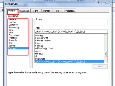 format cell adalah menggunakan menu format cells excel deuniv