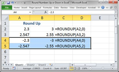 excel magic trick 1018 ceiling function to round up to the nearest