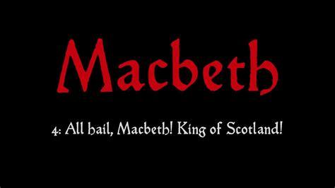 All Hail Johannson Of Scots by School Radio School Radio Macbeth 4 All Hail