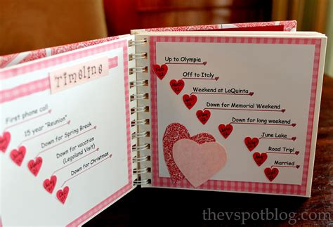 Handmade Gifts For Boyfriends - handmade s gift a relationship timeline