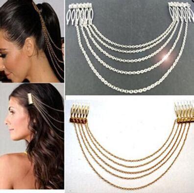 Vintage Wedding Hair Fringe by 2018 S Wedding Hair Accessories Vintage Gold Silver