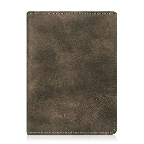 Passport Holder Leather Vegtan premium vegan leather rfid blocking passport holder travel